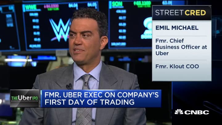 Former Uber exec discusses company's first day of trading
