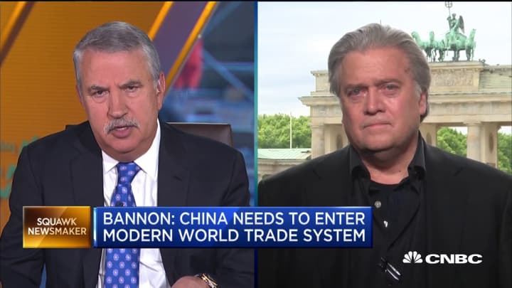 Steve Bannon: Trump is doing the right thing in challenging China
