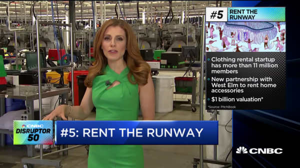 Rent the Runway 2019 Disruptor 50