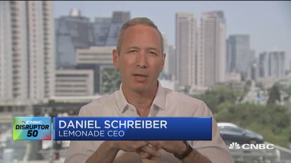 CNBC Disruptors 50: How Lemonade aims to shakeup and revolutionize the insurance industry