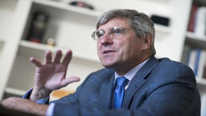 Watch CNBC's full interview with Stephen Moore on interest rates and trade