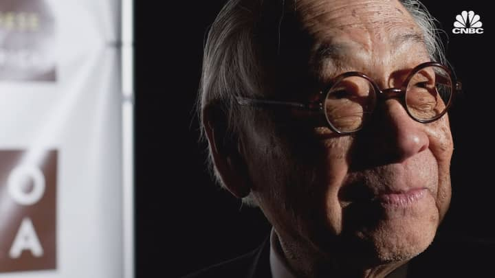 Renowned architect I.M. Pei dies at 102, leaves rich legacy of modern design