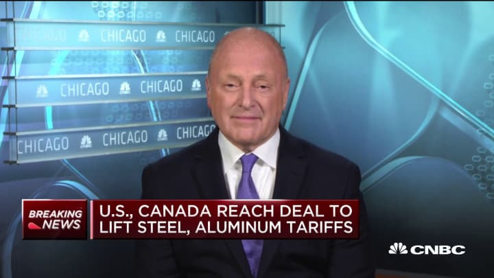 Former US ambassador to Canada on lifting of steel tariffs