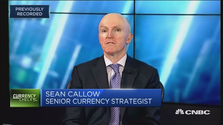 The pop in the AUD is 'fragile,' says currency strategist