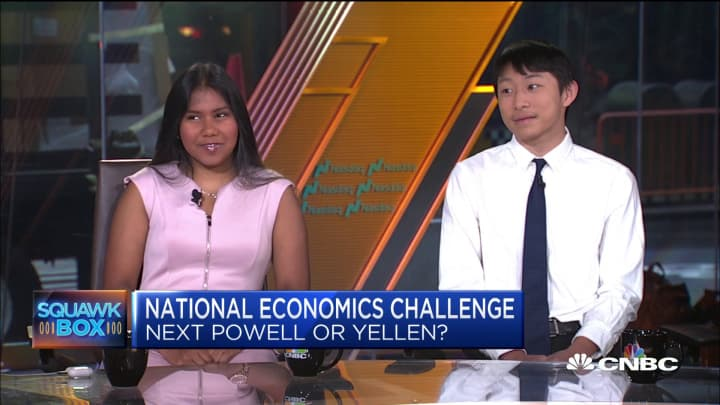 Top students come to NYC to compete in the National Economics Challenge