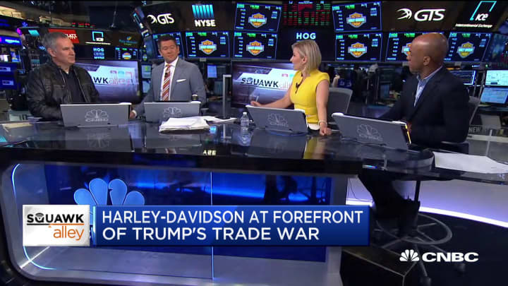 Harley-Davidson CEO Matt Levatich on trade, electric bikes and more