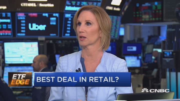 Bricks or clicks? Experts compare the market's top retail ETFs