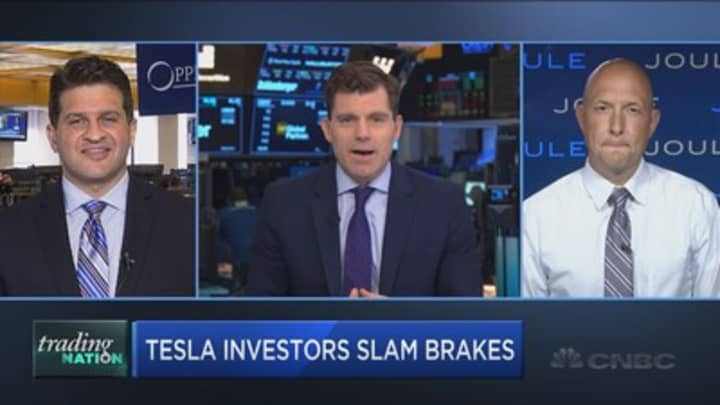 Watch these key levels as Tesla hits the skids