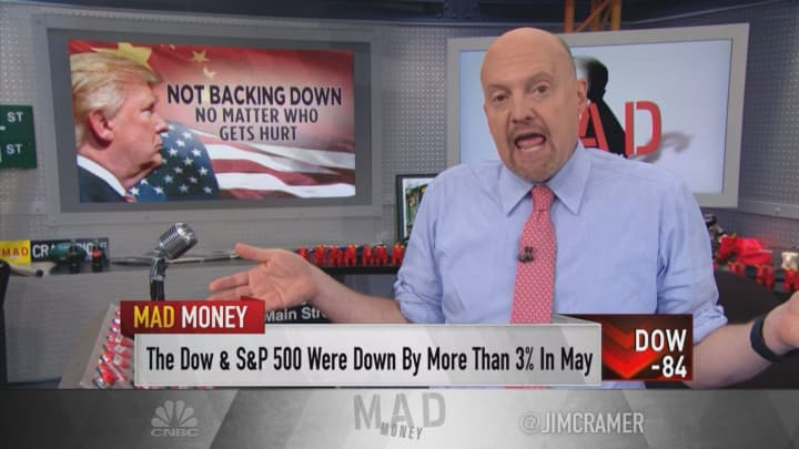 Jim Cramer: 'Your portfolio should have as little exposure to China as possible'