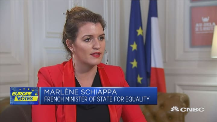 French minister: No one country can tackle gender inequality alone