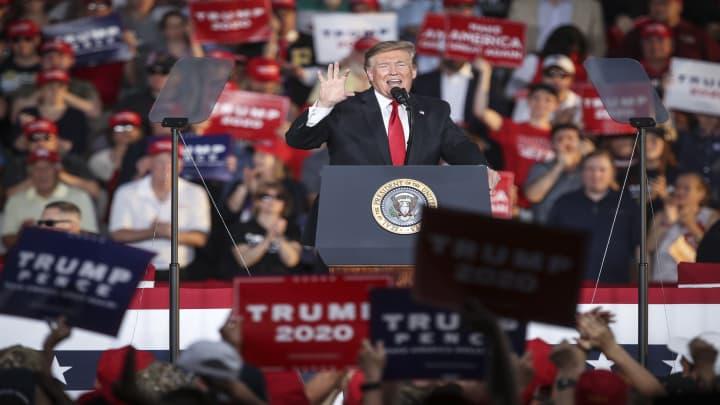 Trump talks trade at his first Pennsylvania rally of 2019