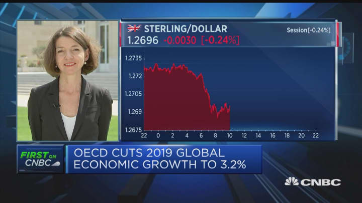 Trade tensions have derailed global growth, OECD's Boone says
