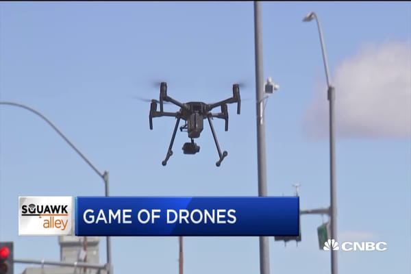 cnbc.com - NASA tests commercial drones in Reno