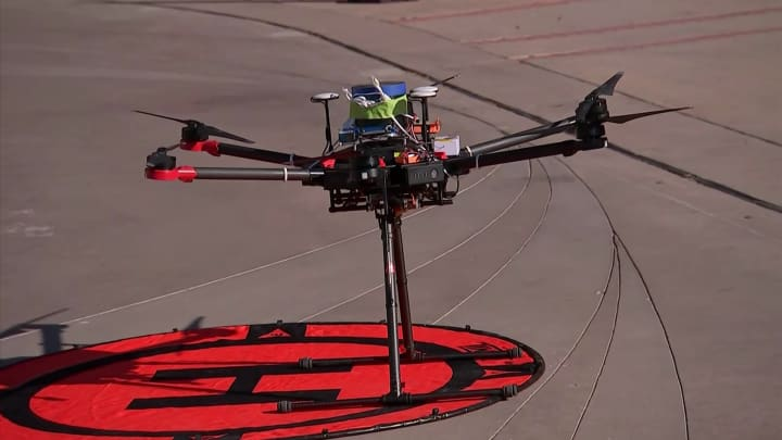 NASA tests air traffic control system for drones in Reno, Nevada