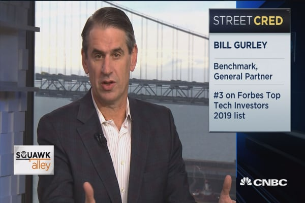 Early Uber investor Bill Gurley on Silicon Valley's shifting sentiment about IPOs