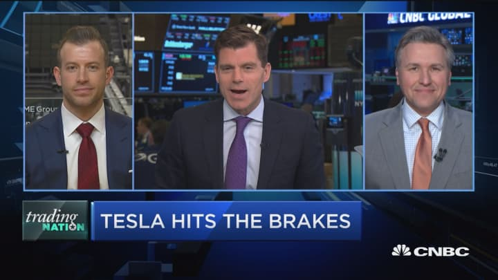 Look for a value buy, short-term trade opportunity in Tesla: Trader