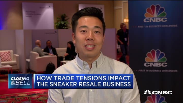 Goat CEO Eddy Lu on impact of tariffs on sneaker market