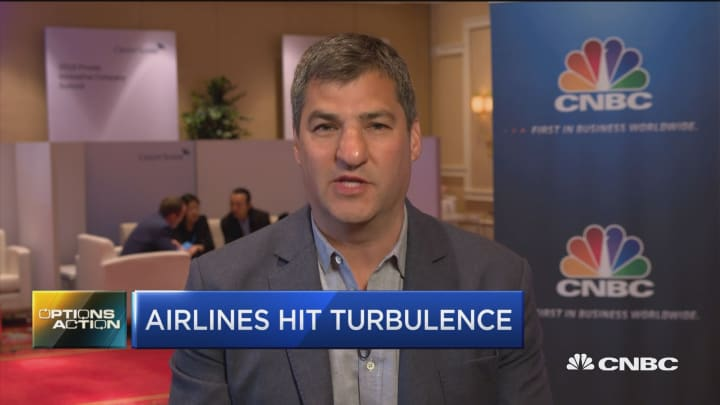 Options traders play for big move in this airline stock