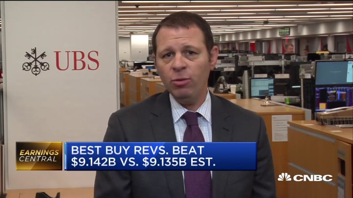 Best Buy CEO Corie Barry is one of the strongest executives in the retail sector, UBS analyst says