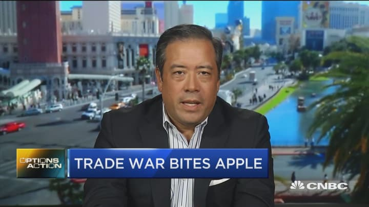 One trader just bet $1.5 million that Apple's pain is just beginning