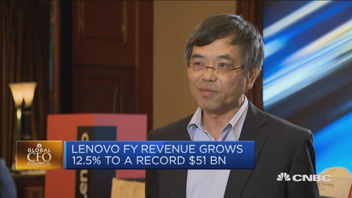 Lenovo is 'well-prepared' for an increase in US tariffs, CFO says