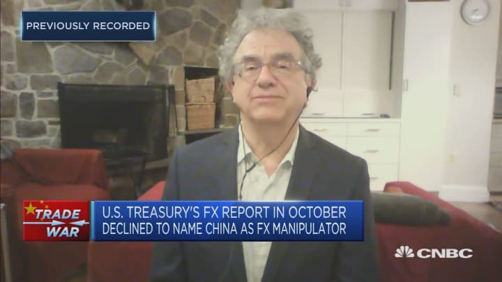 There's a 'contradiction' in the US stance on the Chinese yuan: Professor