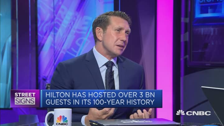 Hotel group Hilton celebrates 100 years in business