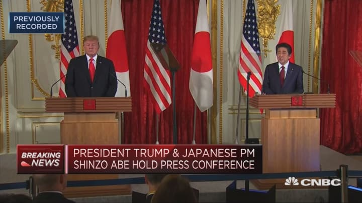 Japanese companies are making investments in US, Japan's PM says