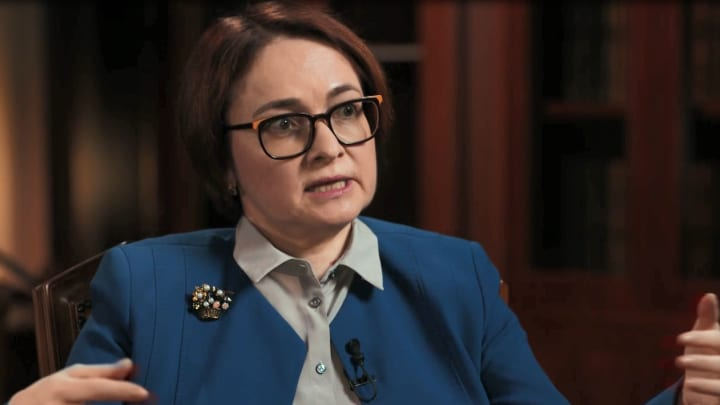 Central bank chief on why Russia's economy is set to grow