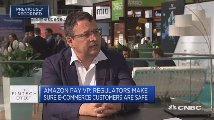 We don't focus on how the stock market is moving, Amazon Pay VP says