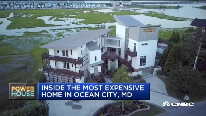 Take a look at the most expensive home in Ocean City, Maryland