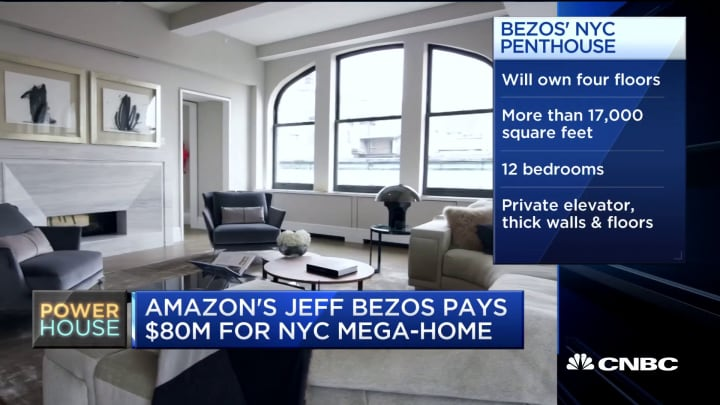 An inside look at Jeff Bezos' new $80 million NYC luxury apartment