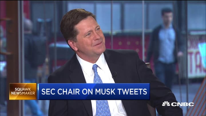 SEC Chairman Jay Clayton on how companies communicate with shareholders