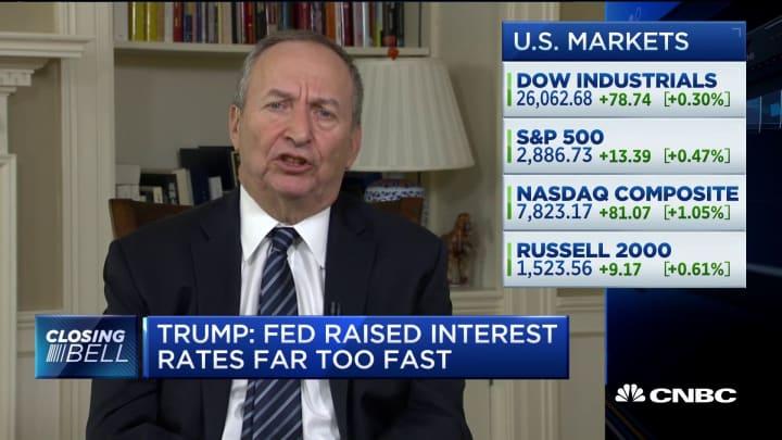 Former Treasury Secretary Larry Summers on trade talks, Fed policy