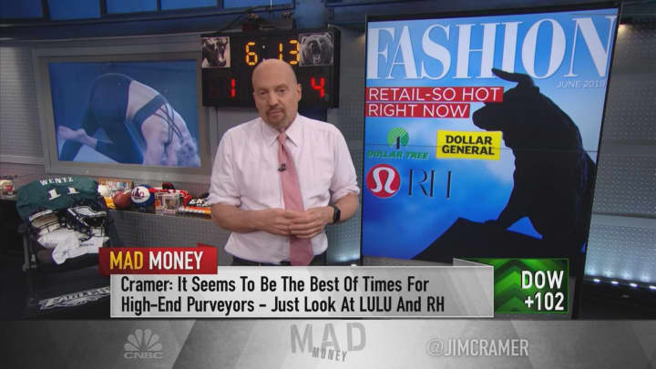 Retail stocks that are working and those to avoid: Jim Cramer
