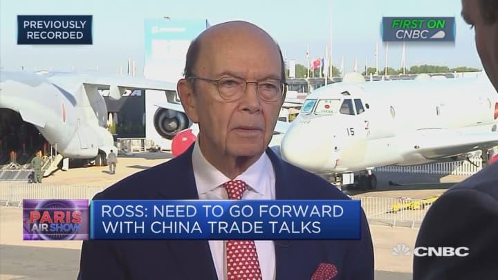 Trump 'totally comfortable' imposing Europe auto tariffs: Wilbur Ross