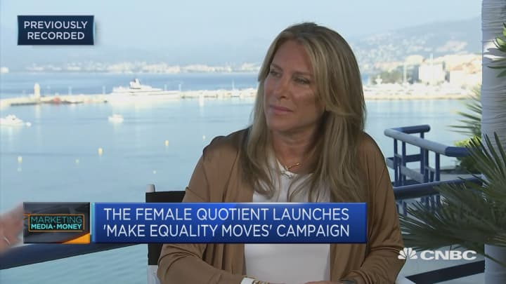 Creating gender parity is not just about diversity, CEO says