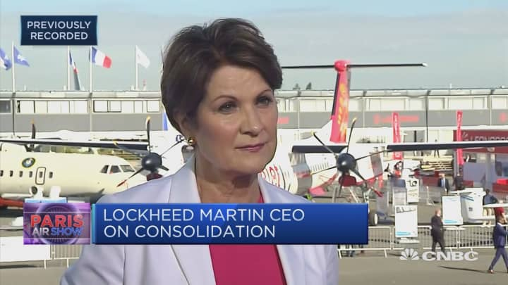 Europe is our largest growth driver: Lockheed Martin CEO
