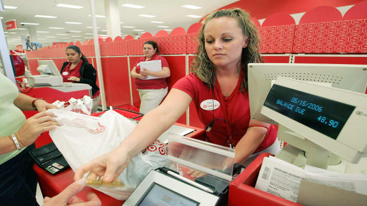 Target registers are back online after weekend outages