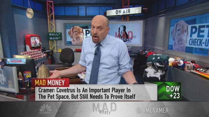 Jim Cramer's 'Humanization of Pets ETF' has paid off in 2019