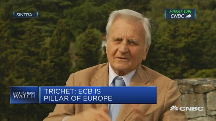 Ex-ECB chief: Less urgent for Europe to go back to 'new normal'
