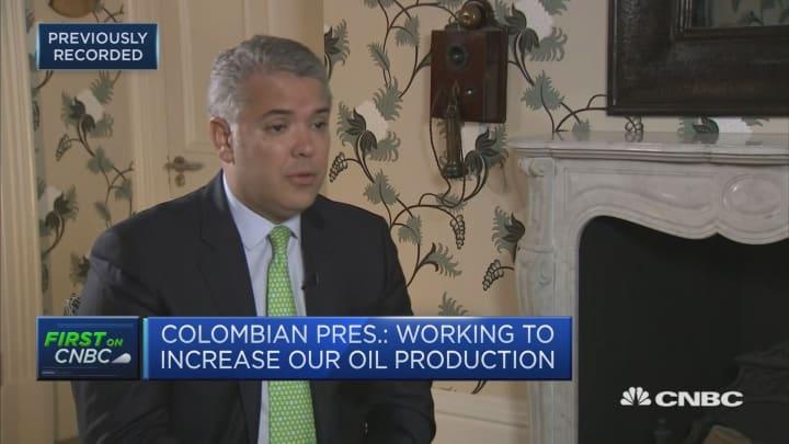 Colombia leading fight against drugs in Western hemisphere: President