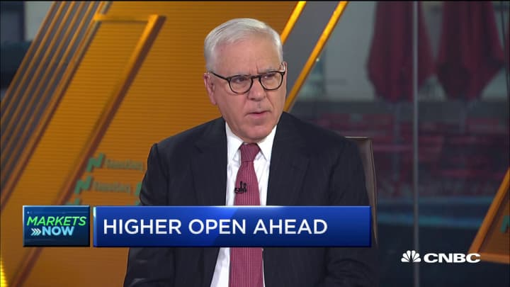 David Rubenstein explains what the markets expect from the Fed and trade war