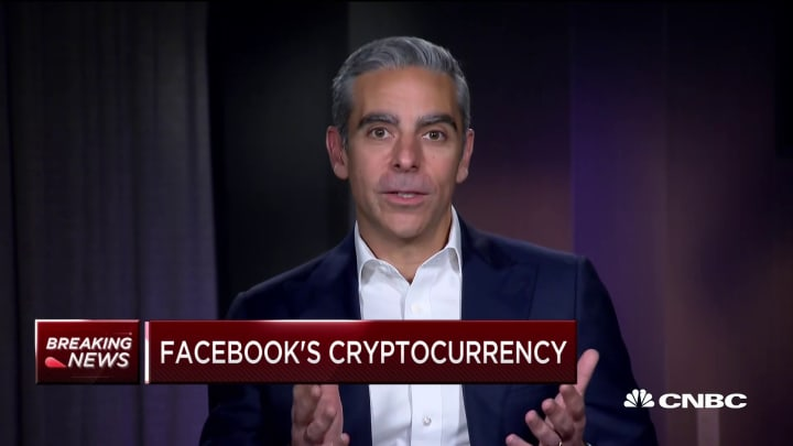 Watch CNBC's full interview with the head of Facebook's digital wallet project