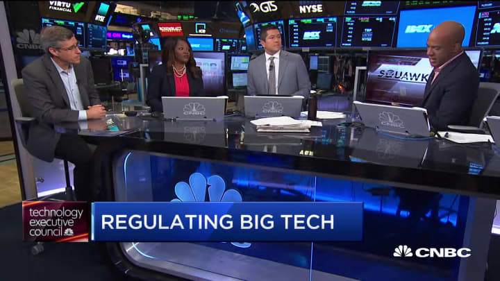 CNBC Tech Executive Council: 69 percent support nationwide data privacy regulation