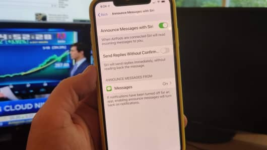 Image result for Have Siri read new text messages through your AirPods.