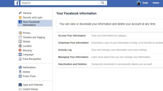 How to delete your Facebook account and save photos, videos, posts