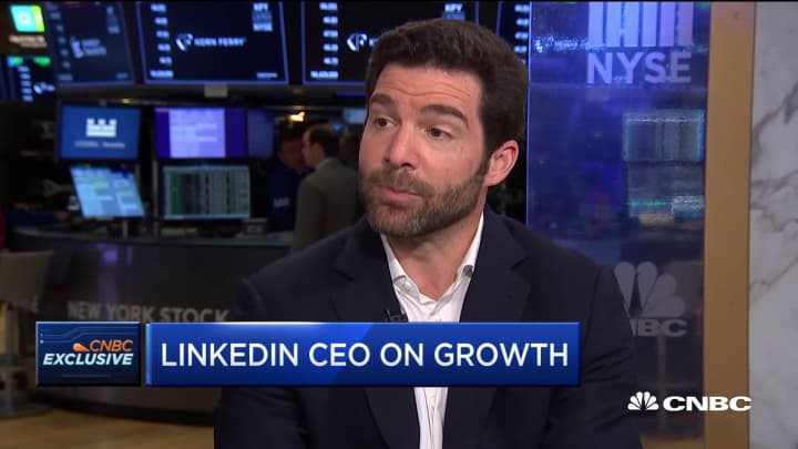 LinkedIn CEO on the company's growth and the state of the US economy