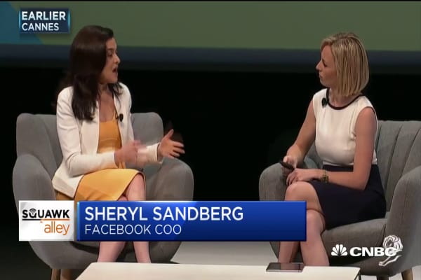 Facebook COO Sheryl Sandberg says the company needs to make it clearer how data privacy works