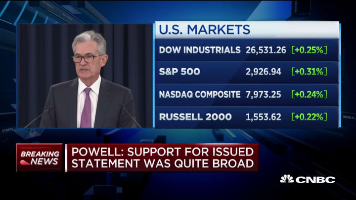 Powell: We are closer to maximum employment